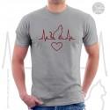 Cat Heartbeat Unisex T-Shirt