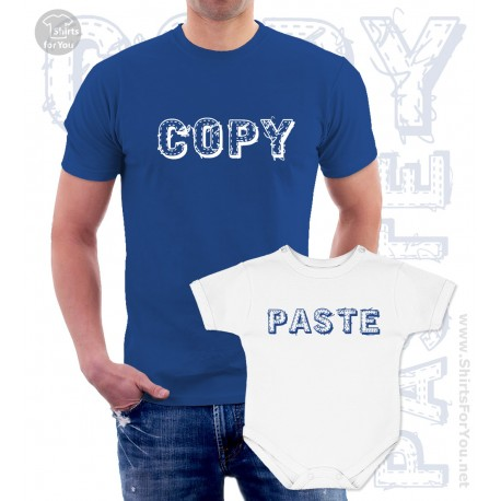 Copy Paste Matching T-Shirt and Onesie