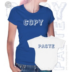 Copy Paste Matching T Shirt and Onesie