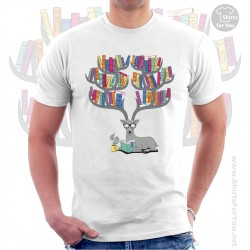 Deer Books Tea Unisex T-Shirt