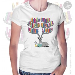 Deer Books Tea Womens T-Shirt