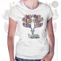 Deer Books Tea Womens T-Shirt