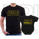 Jedi master and Jedi in progress Matching T-Shirt and Onesie