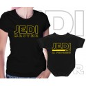 Jedi master and Jedi in progress Matching T Shirt and Onesie