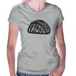 Tacos Womens T-Shirt