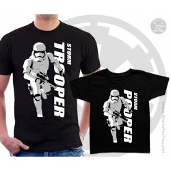 Storm Trooper and Storm Pooper Matching T-Shirts