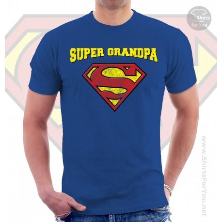 Superman Super Grandpa Unisex T-Shirt