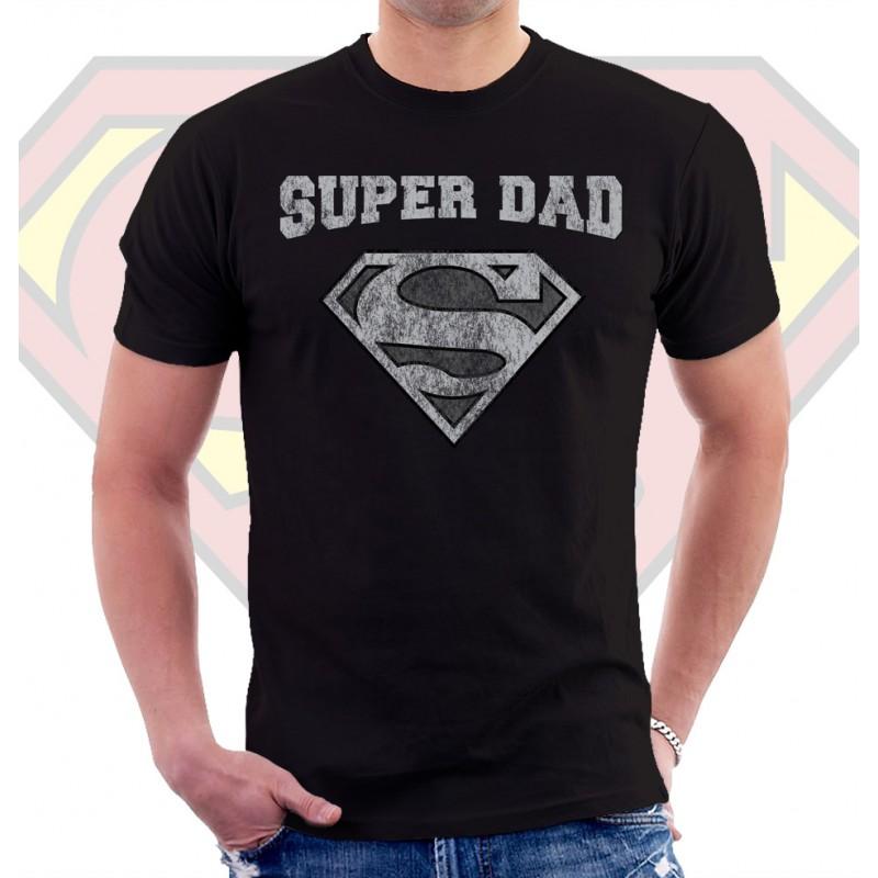 Superman Super Dad T Shirt