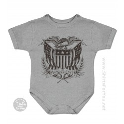 United We Stand Baby Onesie