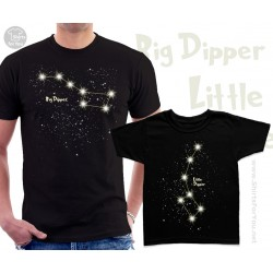 Ursa Major and Ursa Minor Matching T-Shirts