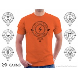 Camp Half-Blood All Cabins Unisex T-Shirt