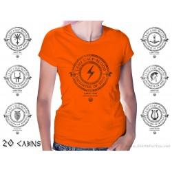Camp Half-Blood All Cabins Womens T-Shirt