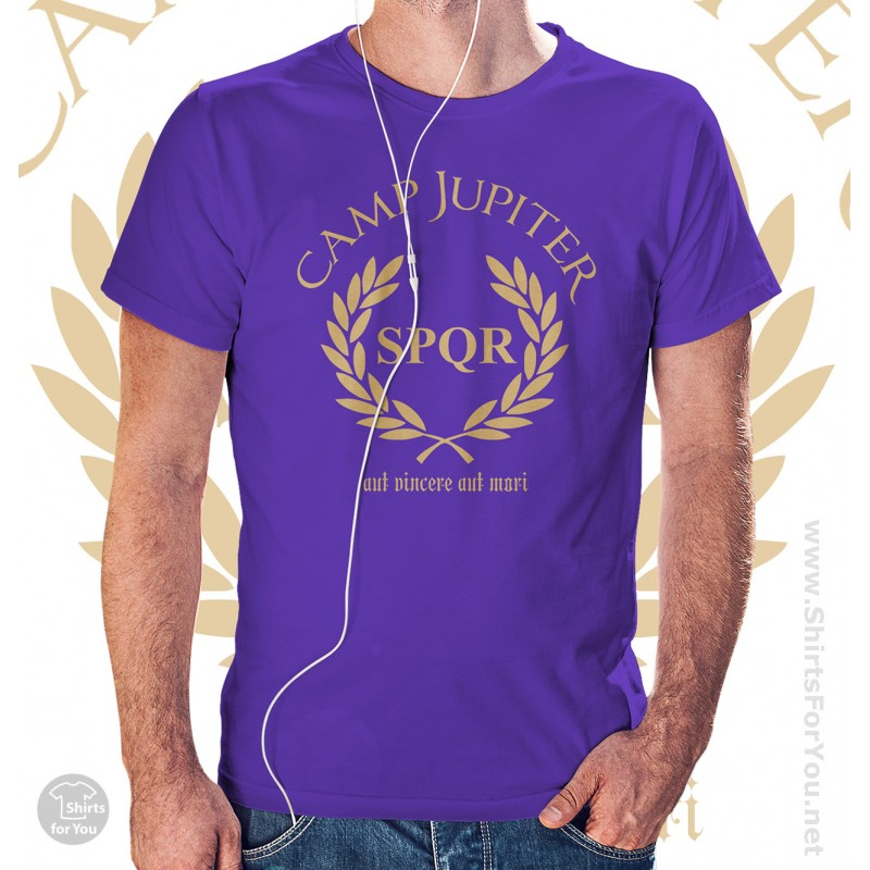 Camp Jupiter Percy Jackson Unisex T-Shirt Camp Jupiter Shirt Percy Jackson