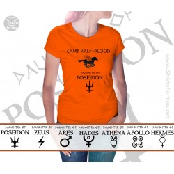 Camp Half-Blood Percy Jackson Womens T-Shirt