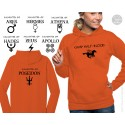 Camp Half-Blood Womens Hooded Sweatshirt