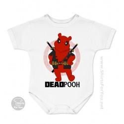 Deadpooh Baby Onesie