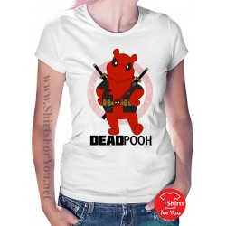 Deadpooh Womens T-Shirt
