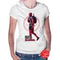 Deadpool Bad Ass Womens T-Shirt