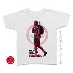 Deadpool Bad Ass Kids T-Shirt