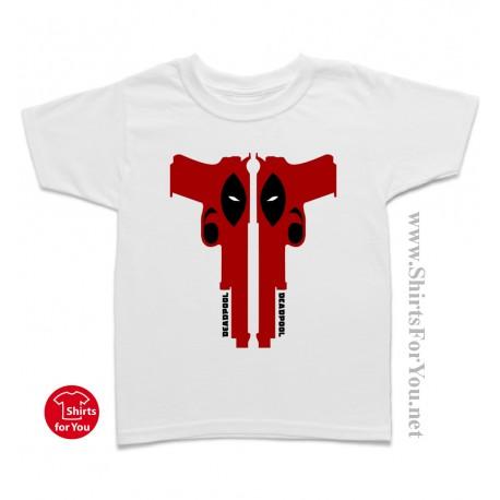 Deadpool Guns Kids T-Shirt