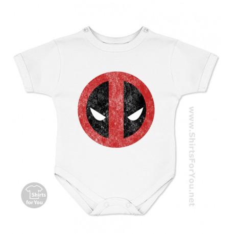 Deadpool Face Baby Onesie