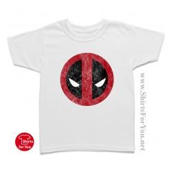 Deadpool Face Kids T-Shirt