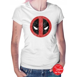 Deadpool Face Womens T-Shirt