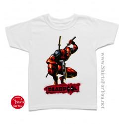 Deadpool Action Kids T-Shirt