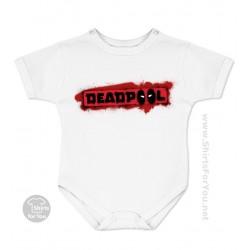 Deadpool Logo Baby Onesie