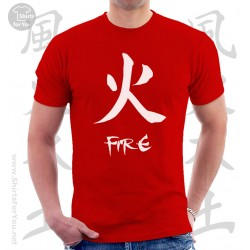 Fire Four Elements Unisex T-Shirt