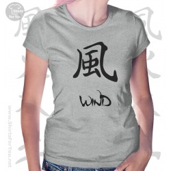 Wind Four Elements Womens T-Shirt