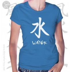 Water Four Elements Womens T-Shirt