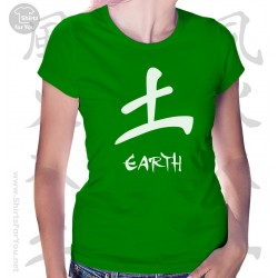 Earth Four Elements Womens T-Shirt