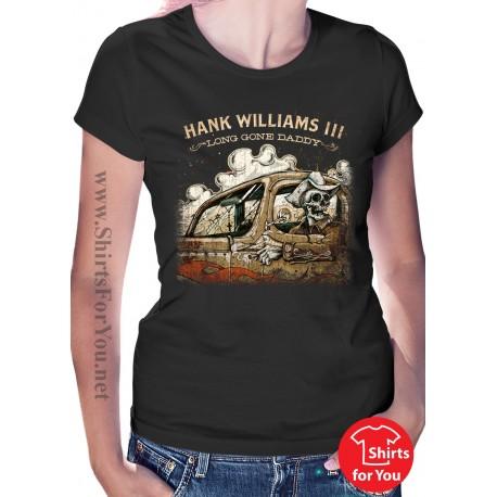 Hank Williams III Womens T-Shirt