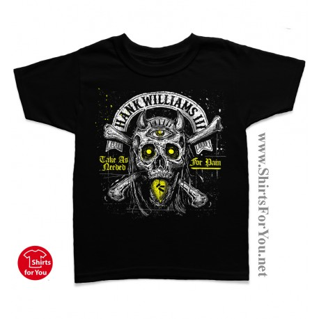 Hank Williams III Kids T Shirt