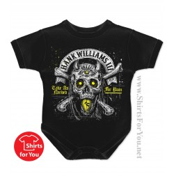 Hank Williams III Baby Onesie