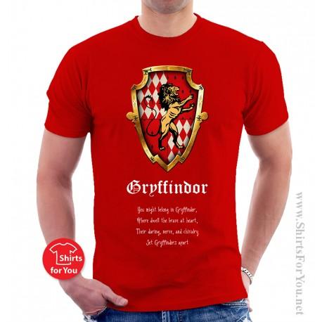 Gryffindor T Shirt Harry Potter