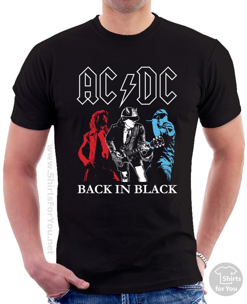 Back in black t shirt - Back In Black T Shirt 3