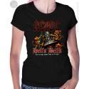 AC DC Hells Bells Womens T-Shirt