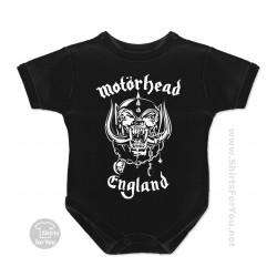 Motorhead England Baby Onesie