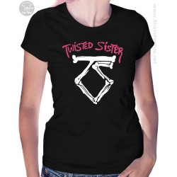 Twisted Sister Womens T-Shirt