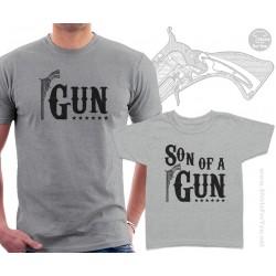 Gun and Son of a Gun Matching T-Shirts