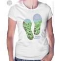 Tread Lightly Womens T-Shirt