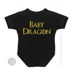 Baby, Son or Daughter Dragon Baby Onesie