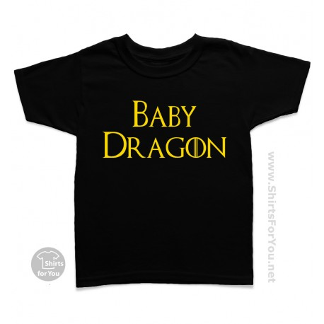 Son, Daughter or Baby Dragon Kids T-Shirt