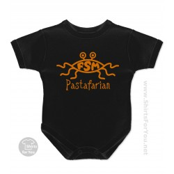 Flying Spaghetti Monster Pastafarian Baby Onesie