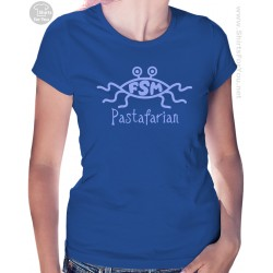 Flying Spaghetti Monster Pastafarian Womens T-Shirt