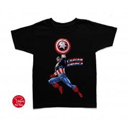 Captain America Kids T Shirt
