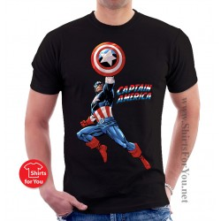 Captain America Unisex T Shirt