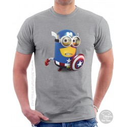 Captain America Minion Unisex T-Shirt